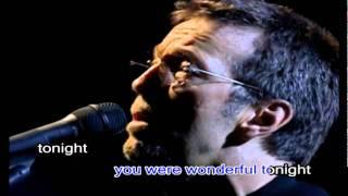 Eric Clapton Wonderful Tonight(karaoke)