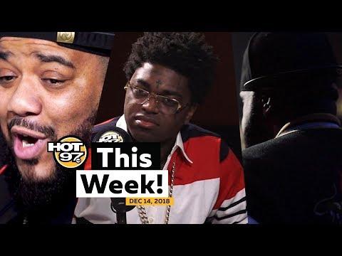 Kodak Black Leaves Interview + Charlie Clips Freestyles + Buju Banton Free on HOT 97 This Week!