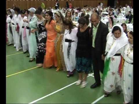 Assyrische Hochzeit MAHSUN CIZIRI aziz & tanya belcika koma cizira botan