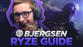 TSM Bjergsen Ryze Guide