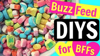 BuzzFeed DIYS | CHEAP & EASY!!!