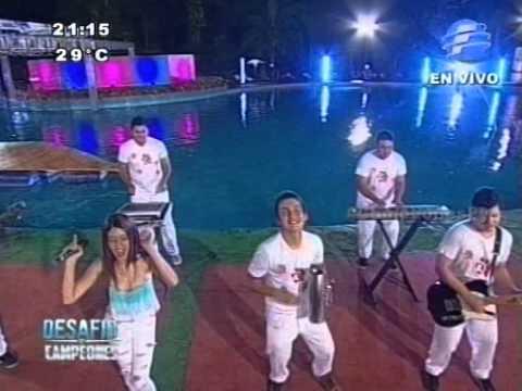 Mily la Kchorrita canta en CampeonesPy