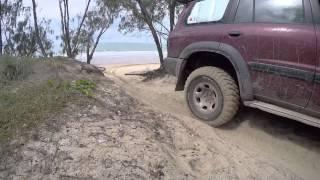 4x4 Visit to Kinkuna Beach April 2015