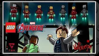 LEGO Marvel Vengadores - Gameplay Español - Nivel Extra 2 - Iron Man 3