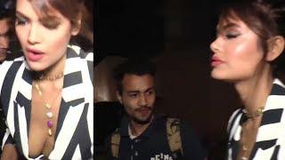 lucky guy watching Esha Gupta in launch event