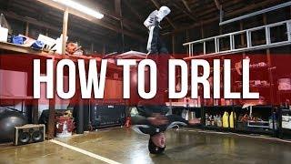 How To Breakdance   Head Spin Drill   Matt Action