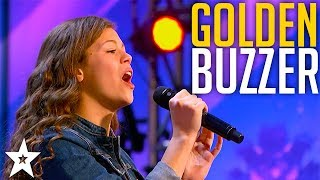 13 YEAR OLD Angelina Green Wins GOLDEN BUZZER on America