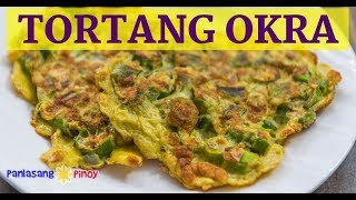 Healthy Tortang Okra (Lady Finger Omelet)