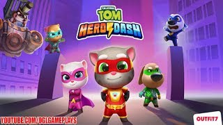 Talking Tom Hero Dash Gameplay (Android IOS APK)