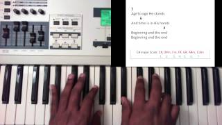 How Great Is Our God - Chris Tomlin (Piano Tutorial)