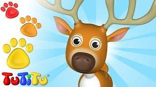 TuTiTu Animals | Animal Toys for Children | Horns