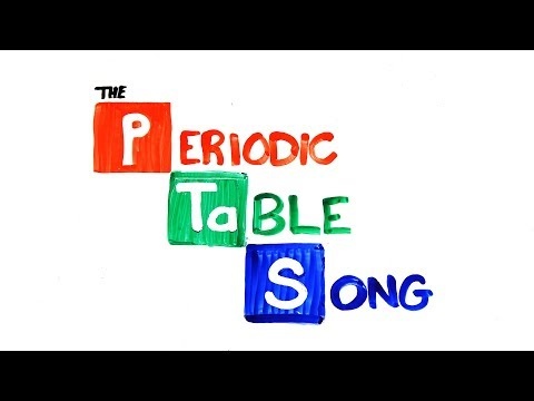 The NEW Periodic Table Song (Updated)
