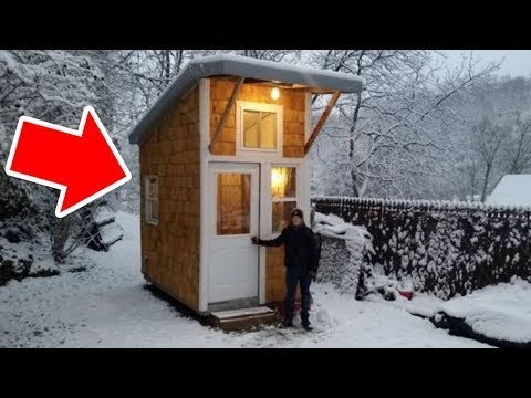 Xxx Mp4 13 Year Old Builds A Tiny House For Only 1500 3gp Sex