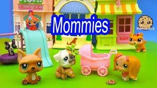 LPS Mommies Series Littlest Pet Shop - Newborn Baby At Park - Part 62 Cookieswirlc Video