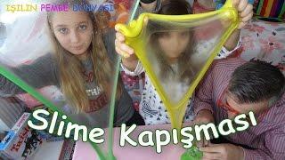 Slime Challenge - Slime Kapışması - Ben Kuzenim Babam - Eğlenceli Çocuk Videosu - Funny Kids Videos