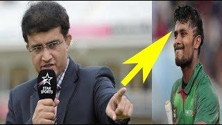 সৌরভ গাঙ্গুলির 'সাব্বির রহমানকে' 'সাব্বির আলী' বলাতে দেশ জুড়ে তোলপাড় Sabbir Rahman | bd cricket news