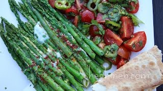 Asparagus and Eggs Appetizer Recipe - Heghineh Cooking Show