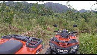 Quad Tour Through The Jungle (Thailand/Koh Chang) with Bkk Nara / Crosskids (HD 1080p)