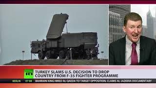 US drops Turkey from F-35 program after Ankara purchases Russian S-400s
