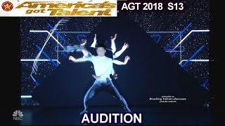 ExisDance Video Projection High Tech Dance group America