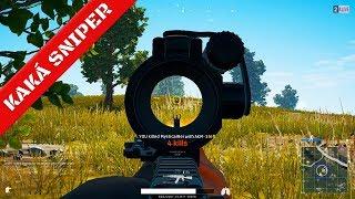 Kaká Sniper Airsoft - #1 lugar no Player Unknown Battleground!!!