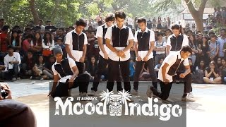 2nd Place - Group 5 - Finals - Streetdance - Mood Indigo 2015   IIT BOMBAY