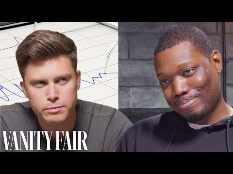 SNL s Colin Jost and Michael Che Take a Lie Detector Test Vanity Fair