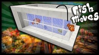 CÁCH LÀM CHO CÁ CÓ THỂ BƠI VÀ NHẢY TRONG HỒ CÁ NHƯ THẬT TRONG MCPE   Minecraft PE 1.2