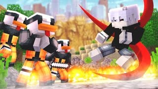 Minecraft: SUPER HEROES PVP #23 - TOKYO GHOUL VS NARUTO ‹ Ine ›