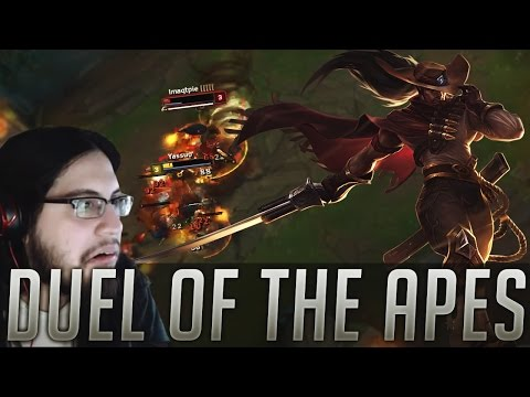Yassuo vs Imaqtpie | Duel of the Apes