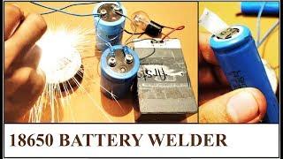 How to Make Battery Spot Welder || Cheap Capacitor Welding DIY