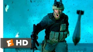 13 Hours: The Secret Soldiers of Benghazi (2016) - Mortar Storm Scene (8/10) | Movieclips