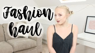 FASHION HAUL!  TOPSHOP | ASOS | MISSGUIDED & MORE | EMILY ROSE