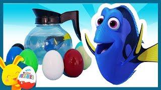 Oeufs surprises de couleurs - Le Monde de Nemo et de Dory - Disney - Titounis Touni Toys