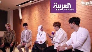 لقاء فرقة CNBLUE  الكورية على صباح العربية- - الجزء الثاني