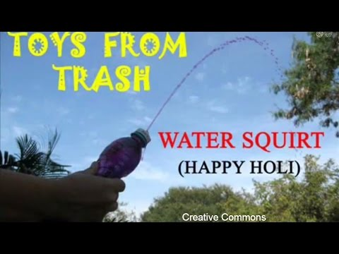 HOLI SPRAY | WATER SQUIRT | Urdu