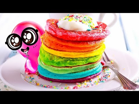 TASTE THE RAINBOW Funny Colorful Crafts
