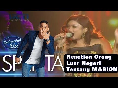 Xxx Mp4 Reaction Orang Luar Negeri Tentang MARION Indonesian Idol 2018 3gp Sex