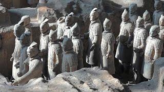 Terracotta Army, Xian, China in 4K (Ultra HD)