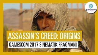 Assassin's Creed Origins: Gamescom 2017 Sinematik Fragmanı - TK