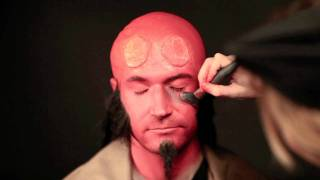 Hellboy Makeup Tutorial (live)