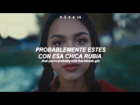 Olivia Rodrigo drivers license Official Video Sub. Español Lyrics