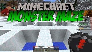 Minecraft: Monster Maze   KID GAMING