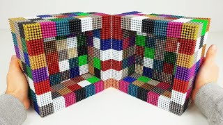 Playing with 50000 Magnetic Balls, Insane CUBE | Magnetic Games