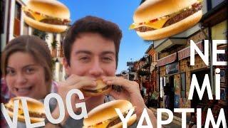 1 Dakikada 3 CheeseBurger - Vlog - Ne Mi Yaptım #1