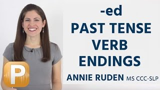 How To Pronounce -ed past tense verb endings: American English Pronunciation