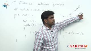 Loops | C Technical Interview Questions and Answers | Mr. Srinivas