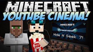 Minecraft | YOUTUBE CINEMA! (Web Displays Mod!) | Mod Showcase [1.6.4]