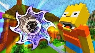 Bart Gets A Phantom Fidget Spinner   The Simpsons   Minecraft Xbox [70]