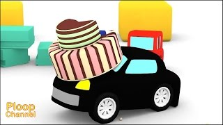 Cartoon Cars - The STOLEN CAKE! - Cartoons for Children - Kids Cars Cartoons - Videos for kids